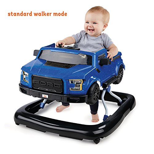 51QRgeI23gL - Bright Starts 3 Ways to Play Walker - Ford F-150 Raptor, Lightning Blue, Ages 6 months +