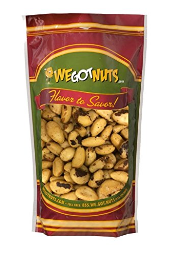 We Got Nuts Roasted Salted Brazil Nuts Bulk Bag (2lb) by We Got Nuts (Image #2)