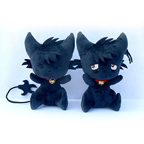 Anime SERVAMP Shirota Mahiru Kuro Plush Doll Toy Black Cat SleepyAsh Kid's Gifts