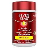 Seven Seas One-A-Day Pure Cod Liver Oil 60 capsules