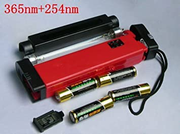 Amazon Com Portable 2 In 1 Uv Lamp Detect Fluorescent Minerals