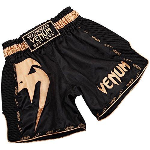 Da Nero oro Thai Muay Venum Uomo Giant Pantaloncini Fx7qEP