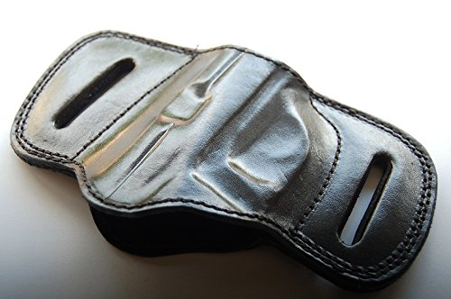 - Cal38BFT Bersa Firestorm Thunder 380 Leather Belt Slide Holster Tan Black (BLACK)