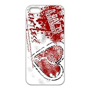 Customize Famous Rock Band A Day To Remember Back Case for iphone5 5S JN5S-2216 Kimberly Kurzendoerfer