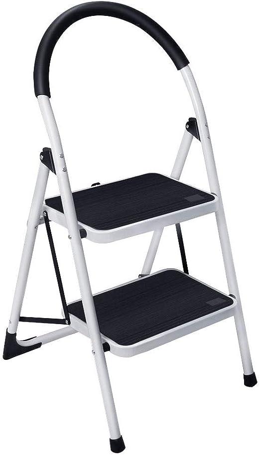 Gimify Escalera Plegable Escalerilla Antideslizante Robusto Hasta ...