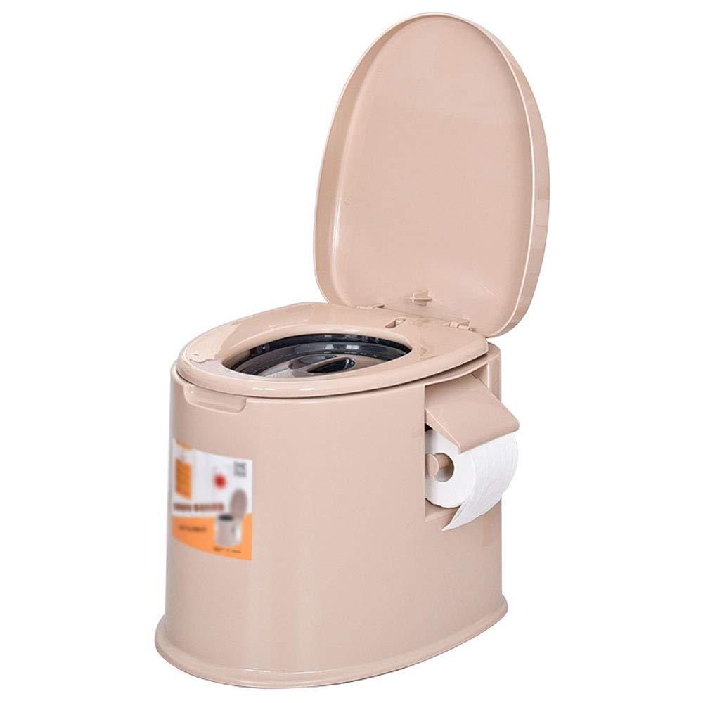 Mrtie Spezielle Toilette Der Älteren Schwangeren Frau des Tragbaren Toilettentoilettenbadezimmers, Kampierende Autotoilette Im Freien