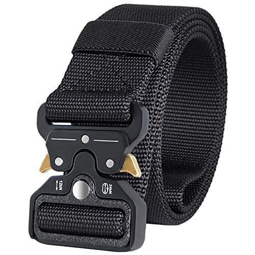 IDEATECH Tactical Belt,1.5 Inch Quick Release Heavy Duty Tactical Belt for Men and Women - Tactical Belt for Cargo Pants