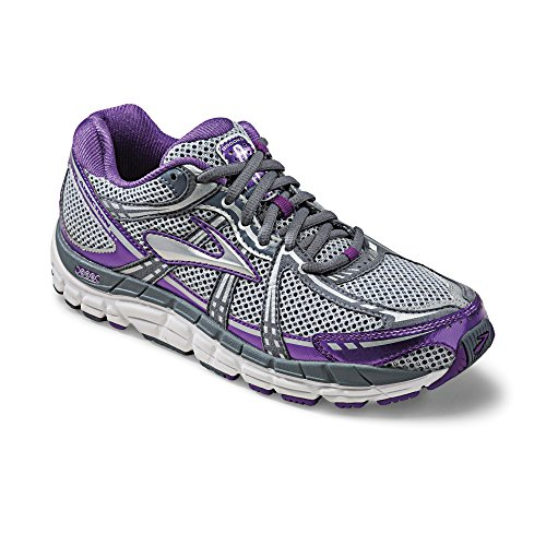 Brooks Addiction 11 Women Running Sportshoes Trainer grey silver, shoe size:EUR 38.5 (Brooks Addictions)
