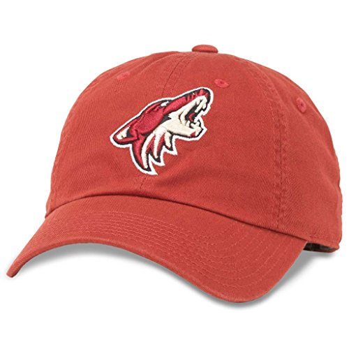American Needle Blue Line NHL Team Dad Hat, Arizona Phoenix Coyotes, Cardinal Red (40742A-PCO) ()