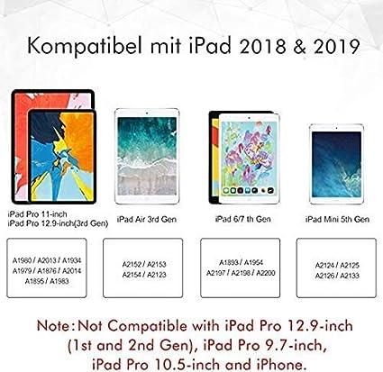 MEKO Stylet am/élior/é pour Apple iPad avec Fonction de rejet de Palme Gen Stylet num/érique Rechargeable 6 Gen//Air 3 Compatible avec Les mod/èles Pro 11//12,9 Pouces Gen//Mini 5
