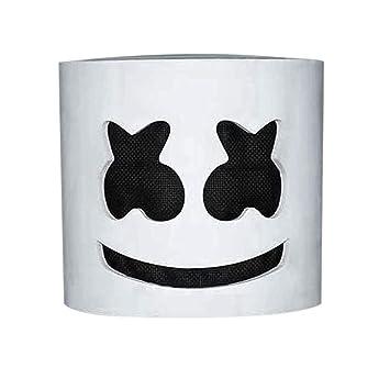 Qjoy Fashion MarshMello DJ Mask Tiesto LED Full Head Helmet Party Halloween Carnival Cosplay Costume Bar