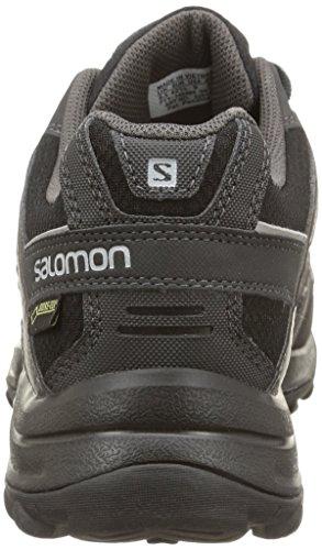 Salomon Herren Eskape Gtx Trekking-& Wanderhalbschuhe Schwarz (Black/Asphalt/Aluminium)