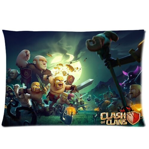 Clash Of Clans Pillow Case Cover Custom Pillowcase (Standard ...