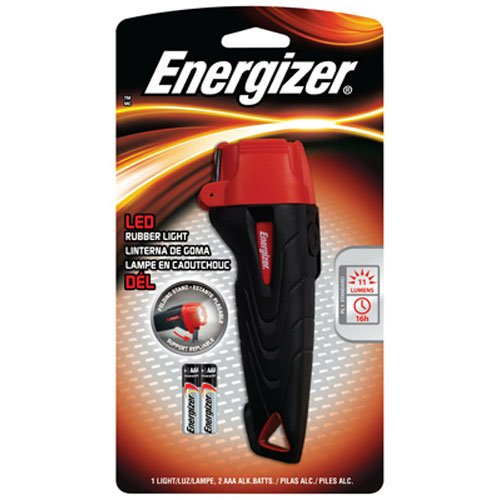Energizer ENRUB 21E P Rubber LED Flashlight
