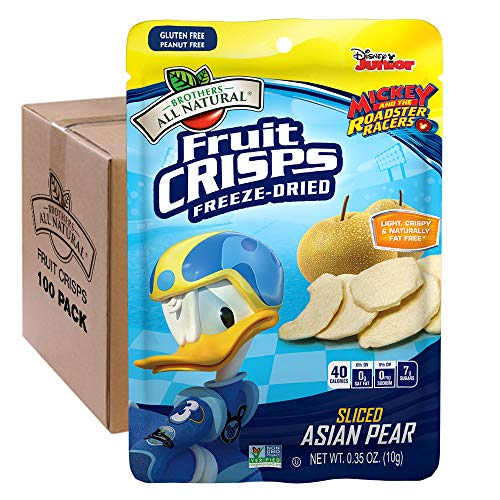 - Brothers-ALL-Natural Fruit Crisps, Donald Duck Asian Pear, 0.35 Ounce (Pack of 100)