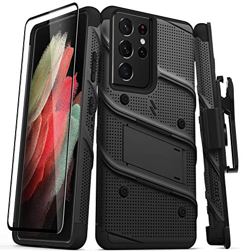 Funda Zizo Bolt para Samsung Galaxy S21 Ultra - Black