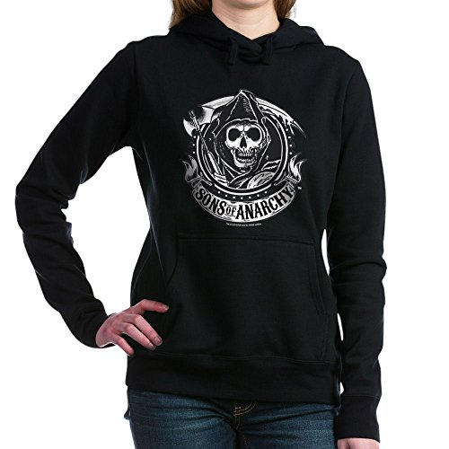 CafePress - Sons of Anarchy - Pullover Hoodie, Classic & Comfortable Hooded Sweatshirt Black -