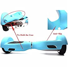 """Silicone Case Cover for 6.5"""" Smart Self Balancing Scooter (Teal)"""