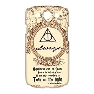 Fashion Harry Potter Hogwarts Samsung Galaxy S3 I9300 Case Cover Deathly hallows map by ruishername