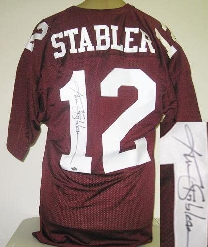 Ken Stabler Signed Alabama Crimson Tide Jersey at Amazon's Sports ...