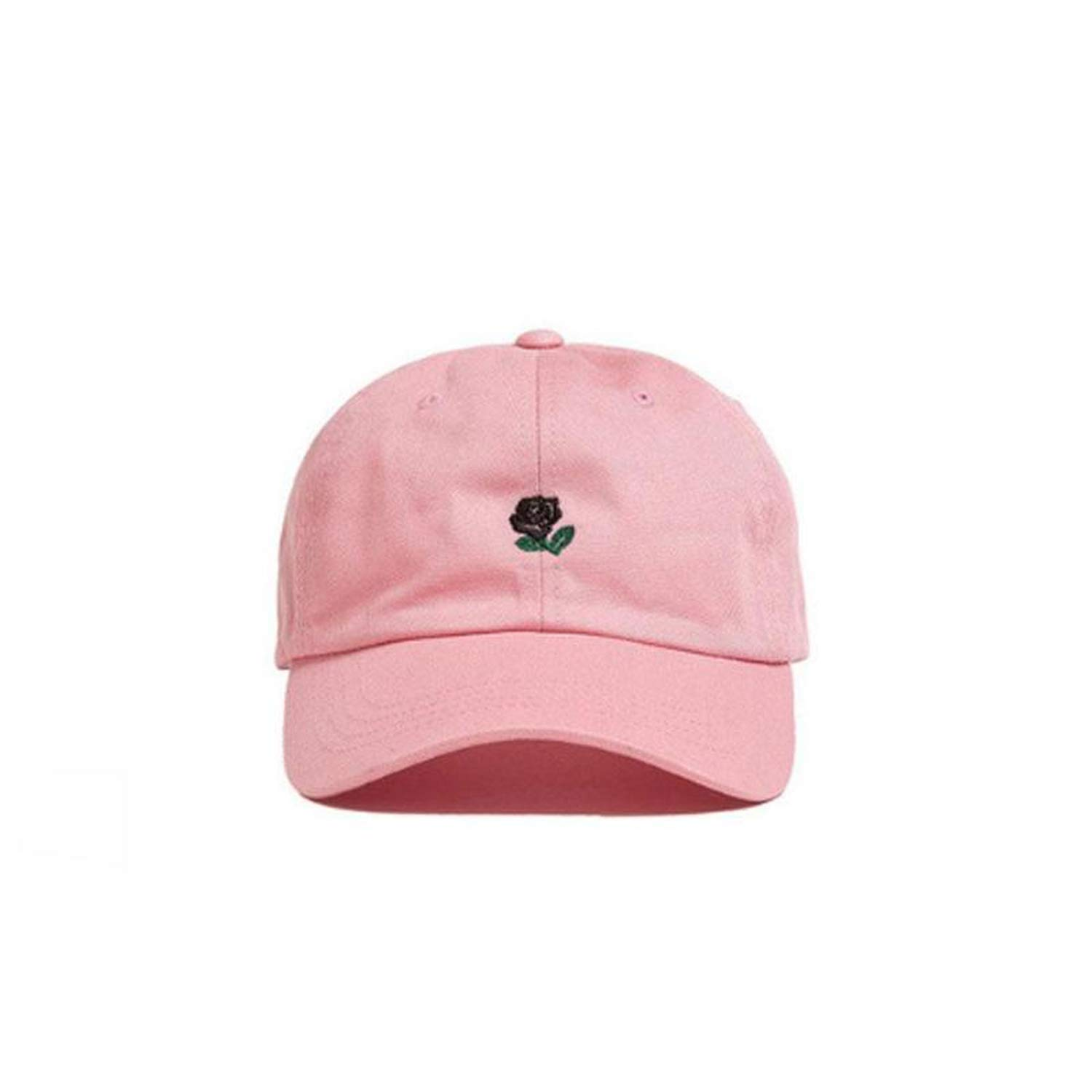 28b74d8a237 NAAO Women Men Hundreds Dad Hat Flower Rose Embroidered Curved Brim  Baseball Cap Visor Hat Clothing Accessories at Amazon Women s Clothing  store
