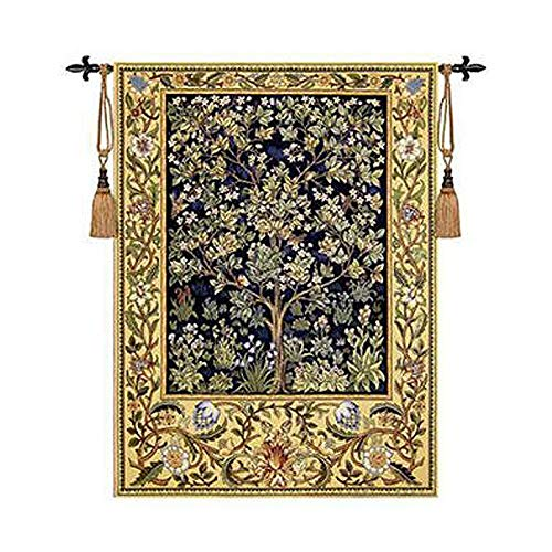 Tomeco William Morris Tree of Life Medieval Wall Tapestry for sale  Delivered anywhere in USA