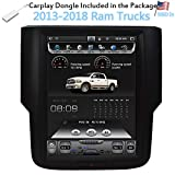 LinksWell T-Style Radio Fit for Ram 2013-2018 Trucks 1500 2500 3500 Navigation System 10.4 Inch Touch Screen Car Stereo...