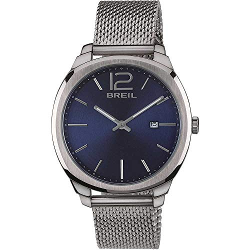 BREIL Watch Clubs Male Only Time Blue Stainless Steel - TW1714