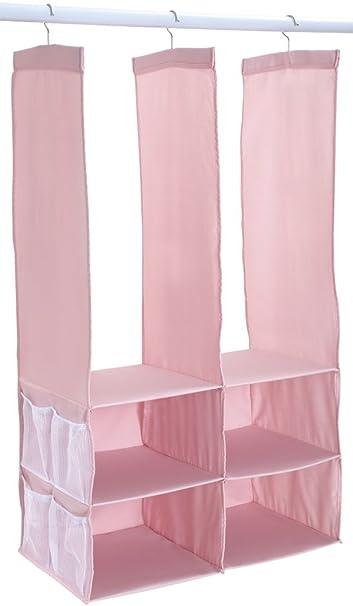 Dexbaby Ultimate Closet Organizer, Pink