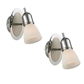 2 luminaires muraux