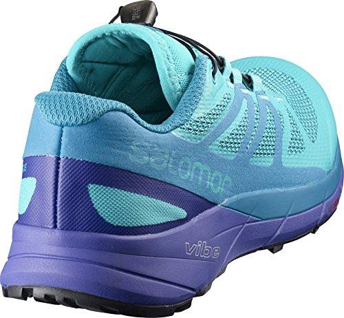 Salomon Women's Sense Ride W Low Rise Hiking Boots, Blue Bluebird/Deep Blue/Black