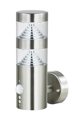 Außenleuchte E27 Sockelleuchte Leuchte Wandleuchte Lampe Edelstahl Außenlampe Wandleuchte Kegel Bwg