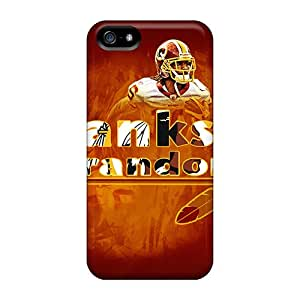 JamieBratt Iphone 5/5s Perfect Hard Cell-phone Case Allow Personal Design Colorful Washington Redskins Pictures [cVP18000Scvy]