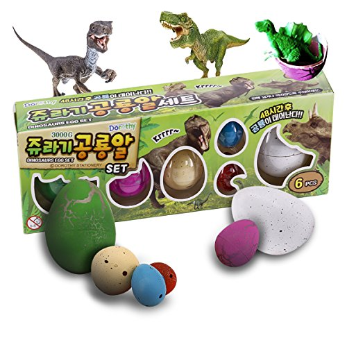 Blackjill Hatchimals Dinosaur 6 Pcs Pokemon Hatching Eggs Grow Eggs Crack Need Water Kids Gifts Hatchimals Crack Easter Dinosaur Egg For Kids hatchimal egg game,Dinosaur Eggs that Hatch in Water,