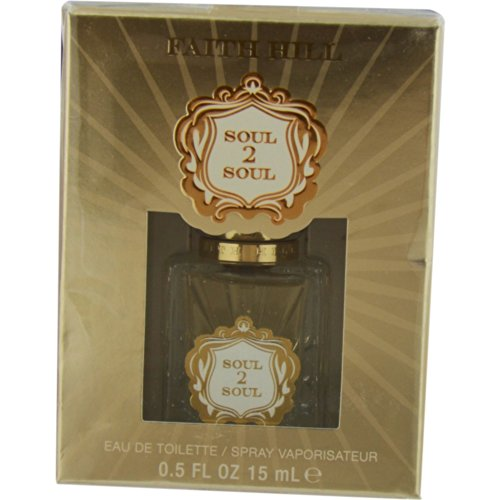Faith Hill Soul 2 Soul Eau de Toilette Spray, 0.5 Ounce