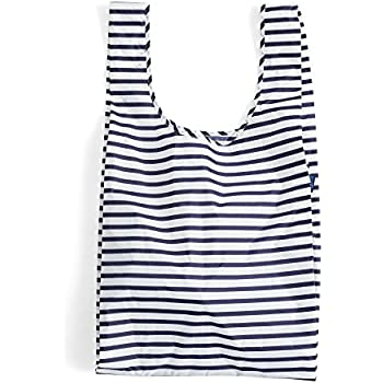 BAGGU Large Reusable Shopping Bag - Sailor Stripe