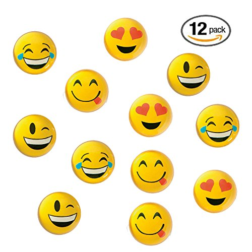 """Shop online Pack . """" Emoji Smile Face Emoticon Double Sided Translucent Super Bounce Balls - Fun"""