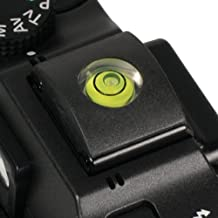 Foto&Tech 2 In 1 Hot Shoe Hotshoe Cover With Bubble Spirit Level for Pentax Camera K1 K70 KS2 K3II K1 KP KS2 645Z KS1 K5 K50 K30 X-5