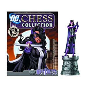DC Chess Figure & Collector Magazine #21 Huntress White Rook