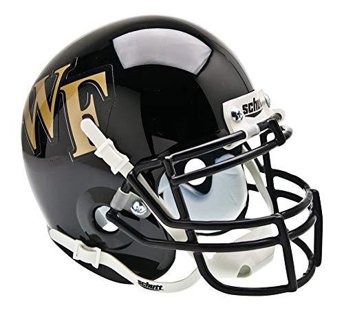 Schutt NCAA Wake Forest Demon Deacons Mini Authentic XP Football Helmet, Classic ()