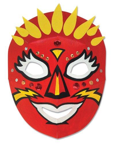 Creativity Street Die Cut Dimensional Masks, 10.5-in. x 8.25-in., 40 Pack (AC4652)