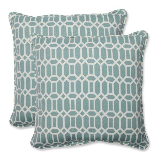 Pillow Perfect Outdoor Rhodes Quartz Throw Pillow, 18.5-Inch