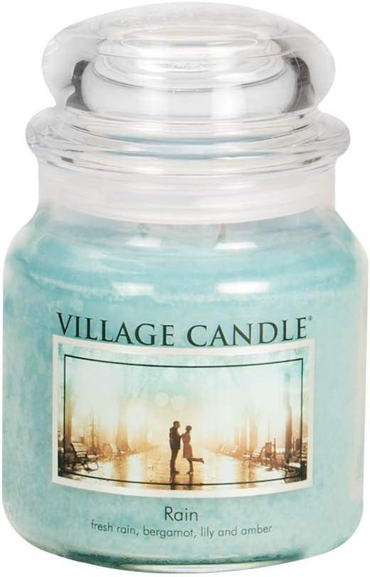 Village Candle Mulled Cider 16 oz Glass Jar Scented Candle Medium