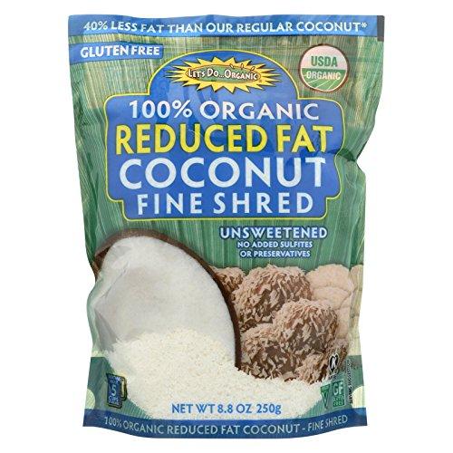Lets Do Organics Coconut Shred Lite, 8.80 oz