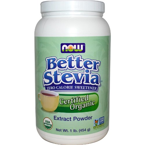 Now  Better Stevia Organic Sweetener, 1 lb. by NOW