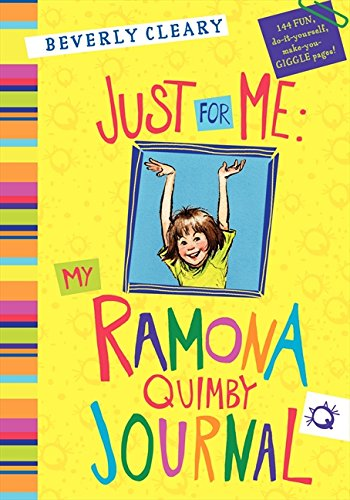 Price comparison product image Just for Me: My Ramona Quimby Journal