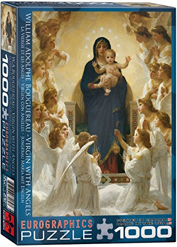 EuroGraphics Virgin with Angels by William Bouguereau 1000 Piece Puzzle