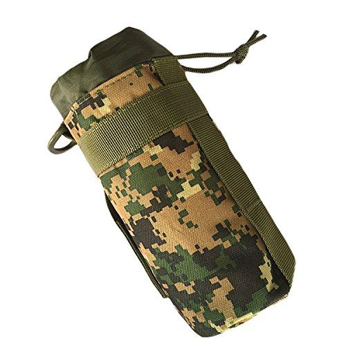 Digital Belt (CHRISTYLE Portable Outdoor Tactical Molle Water Bottle Bag Pouch Backpack Belt Holder (Jungle Digital))