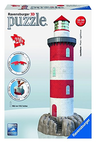 Ravensburger Coastal Lighthouse - 3D Puzzle (216-Piece)
