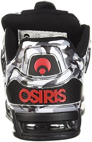 Osiris Brigade De Chaussures De Skate Au Péril / Blanc